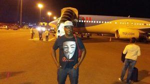 Arriving in Zanzibar