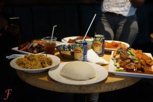 Table full of African Food (African Kitchen)