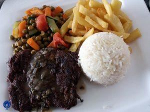 Lunch at Five to five hotel Kigali